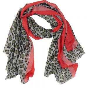 Sjaal-panter-grijs