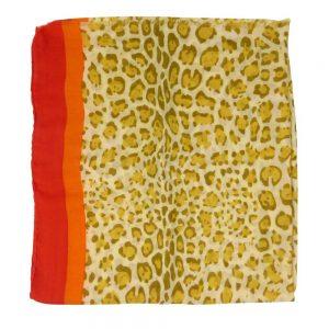 Sjaal-panterprint-geel-liggend
