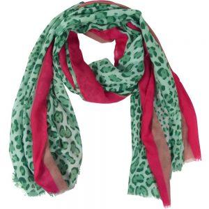 Sjaal-panterprint-groen
